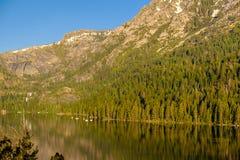 Het landschap van meertahoe - Californië, de V.S. Stock Fotografie