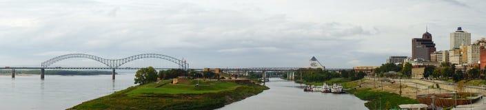 Het landschap van Memphis Royalty-vrije Stock Foto