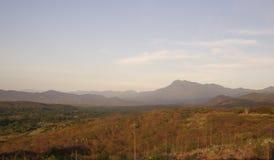 Het landschap van Mexico stock afbeeldingen