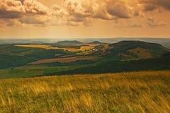Het landschap van Moravian Stock Foto's