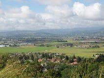 Het landschap van Morgan Hill Stock Afbeeldingen