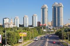 Het landschap van Moskou Stock Afbeeldingen