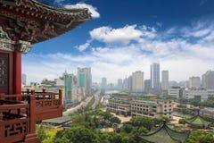 Het landschap van Nan-Tchang Stock Afbeeldingen