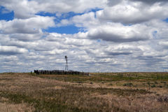 Het landschap van Nebraska Stock Foto