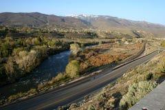 Het landschap van Nevada Stock Foto