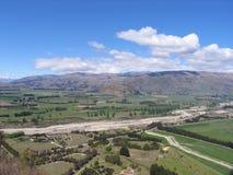 Het Landschap van Nieuw Zeeland Stock Fotografie