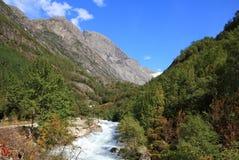 Het landschap van Noorwegen Royalty-vrije Stock Afbeeldingen