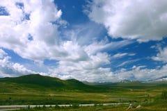 Het landschap van Noorwegen, Handargervidda Stock Foto
