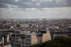 Het landschap van Parijs Stock Afbeeldingen