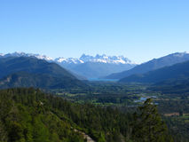 Het landschap van Patagonië, Argentinië stock foto