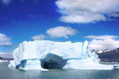 Het Landschap van Patagonië, zuiden van Argentinië stock afbeeldingen