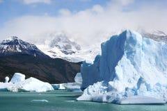 Het Landschap van Patagonië, zuiden van Argentinië royalty-vrije stock fotografie