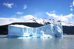 Het Landschap van Patagonië, zuiden van Argentinië stock afbeelding