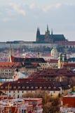 Het landschap van Praag Stock Afbeeldingen