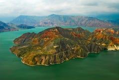 Het landschap van Qinghai van Cambra Royalty-vrije Stock Foto's