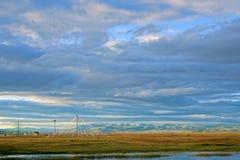 Het landschap van het Qinghaimeer royalty-vrije stock foto