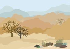 Het landschap van Rajasthan royalty-vrije stock fotografie