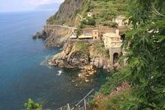 Het Landschap van Riomaggiore Royalty-vrije Stock Afbeelding