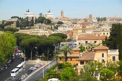Het landschap van Rome Stock Foto