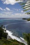 Het landschap van Samoa stock afbeelding