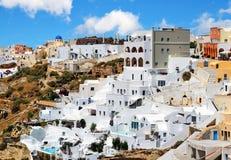 Het landschap van Santorinigriekenland royalty-vrije stock foto's