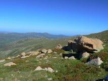Het landschap van Sardinige Stock Fotografie