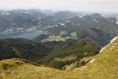 Het landschap van Schafberg Stock Afbeelding