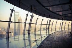 Het landschap van Shanghai stock afbeelding