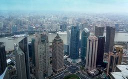 Shanghai van China pudong royalty-vrije stock foto