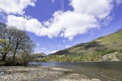Het landschap van Snowdonia stock foto's