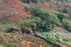 Het landschap van Snowdonia Royalty-vrije Stock Foto