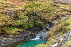 Het landschap van Snowdonia Stock Foto