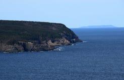 Het landschap van Stiles Cove van de Killickkust stock afbeelding