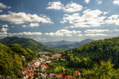 Het landschap van Stramberk Stock Afbeelding