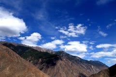 Het landschap van Tibet Royalty-vrije Stock Foto's