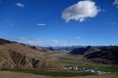 Het landschap van Tibet Stock Afbeeldingen