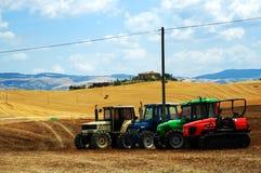 Het landschap van Toscanië Stock Fotografie
