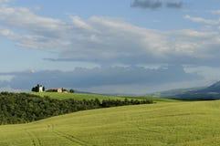 Het landschap van Toscanië, Italië, Europa royalty-vrije stock afbeeldingen