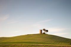 Het landschap van Toscanië, magonatoren Stock Fotografie