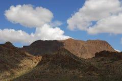 Het landschap van Tucson Stock Afbeeldingen