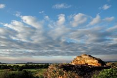 Het landschap van Ubirr Royalty-vrije Stock Fotografie