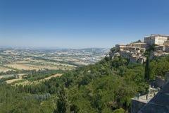 Het landschap van Umbrië (Italië) Royalty-vrije Stock Afbeeldingen