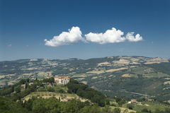 Het landschap van Umbrië (Italië) Stock Foto's