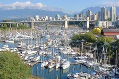 Het Landschap van Vancouver tijdens de Zomer Royalty-vrije Stock Foto