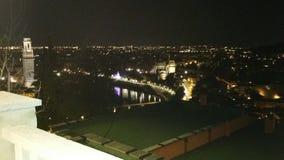 Het landschap van Verona stock afbeeldingen