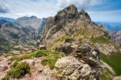 Het landschap van Wideange in de bergen Royalty-vrije Stock Afbeelding