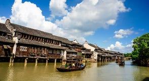 Het landschap van Wuzhen Royalty-vrije Stock Foto