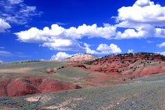 Het Landschap van Wyoming Stock Fotografie