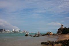 Het landschap van Xiamen stock afbeeldingen
