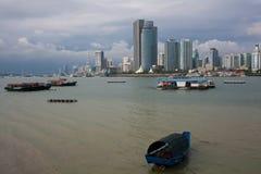 Het landschap van Xiamen Stock Foto